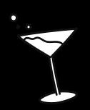 Illustration d'un verre à pied